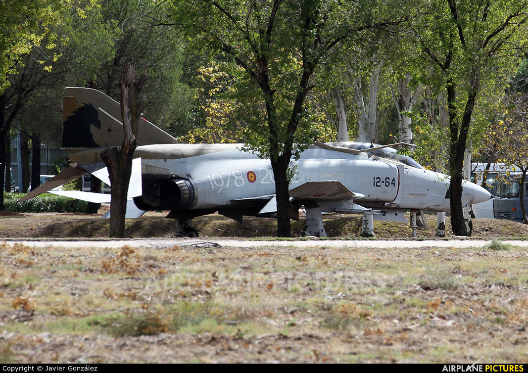 Spain - Air Force CR.12-55 aircraft at Madrid - Torrejon