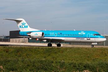 PH-KZF - KLM Cityhopper Fokker 70