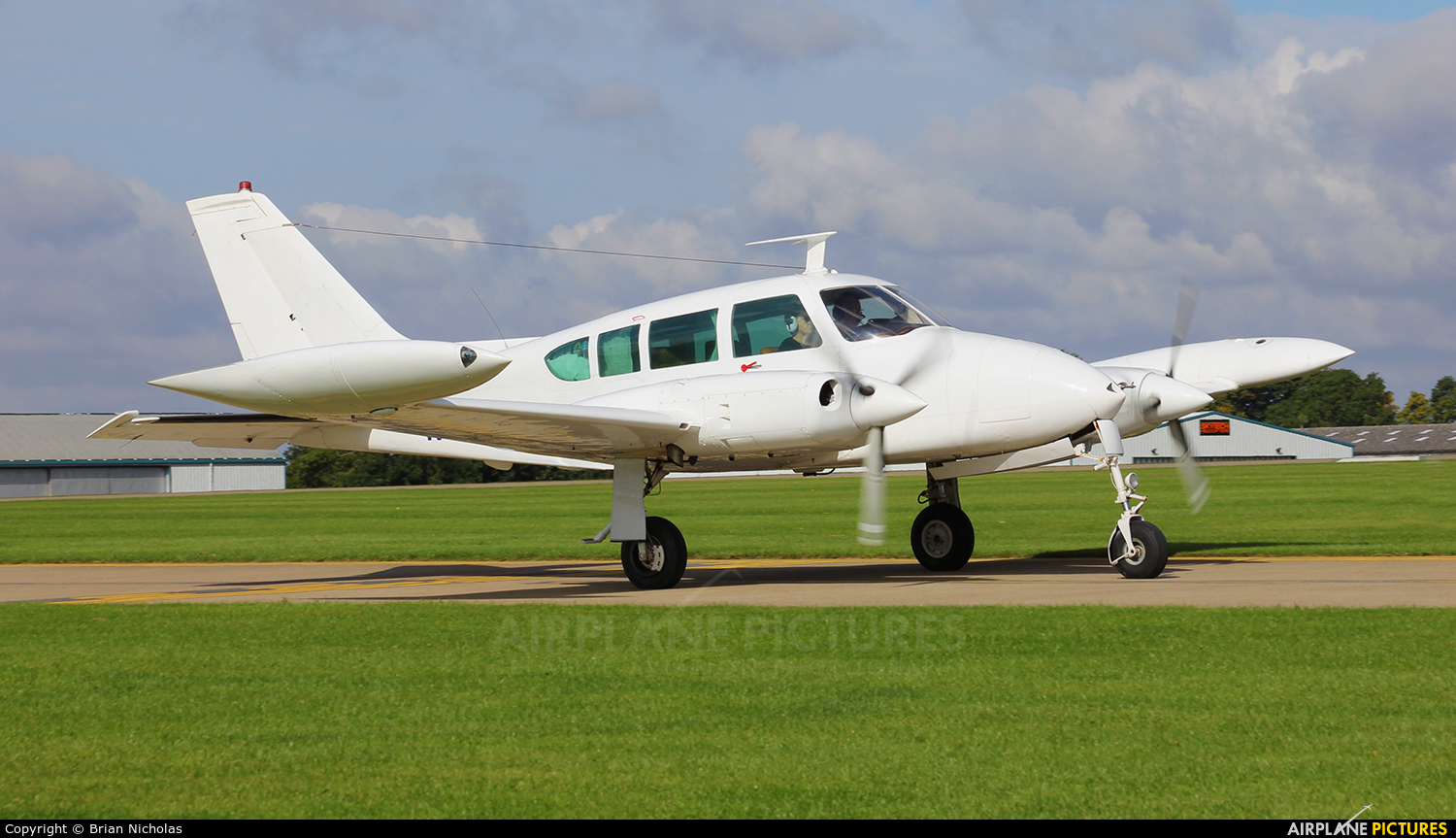 Private N4173T aircraft at Northampton / Sywell