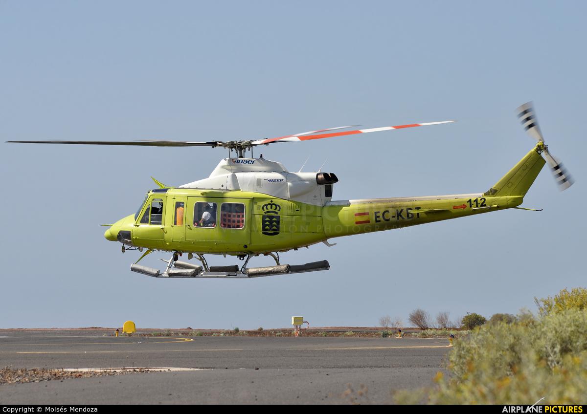 INAER - Gobierno de Canarias EC-KBT aircraft at La Gomera