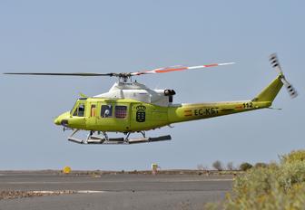 EC-KBT - INAER - Gobierno de Canarias Bell 412SP