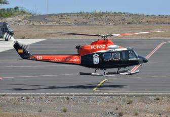 EC-HXZ - INAER - Gobierno de Canarias Bell 412EP