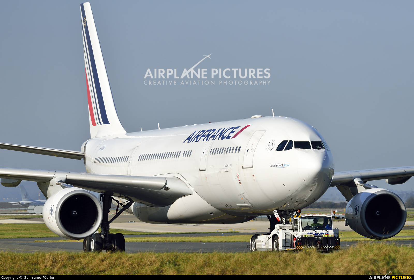 Air France F-GZCB aircraft at Paris - Charles de Gaulle