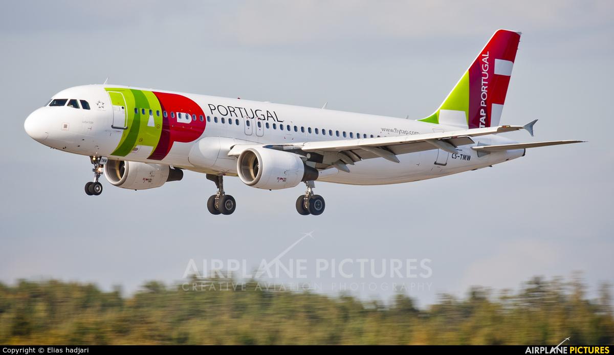 TAP Portugal CS-TMW aircraft at Helsinki - Vantaa