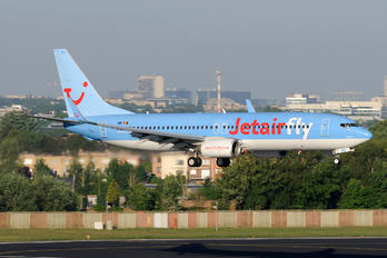 OO-JAQ - Jetairfly (TUI Airlines Belgium) Boeing 737-800