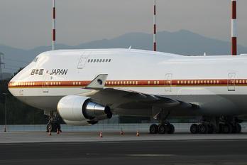 20-1011 - Japan - Air Self Defence Force Boeing 747-400