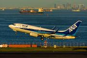 JA14AN - ANA - All Nippon Airways Boeing 737-700 aircraft