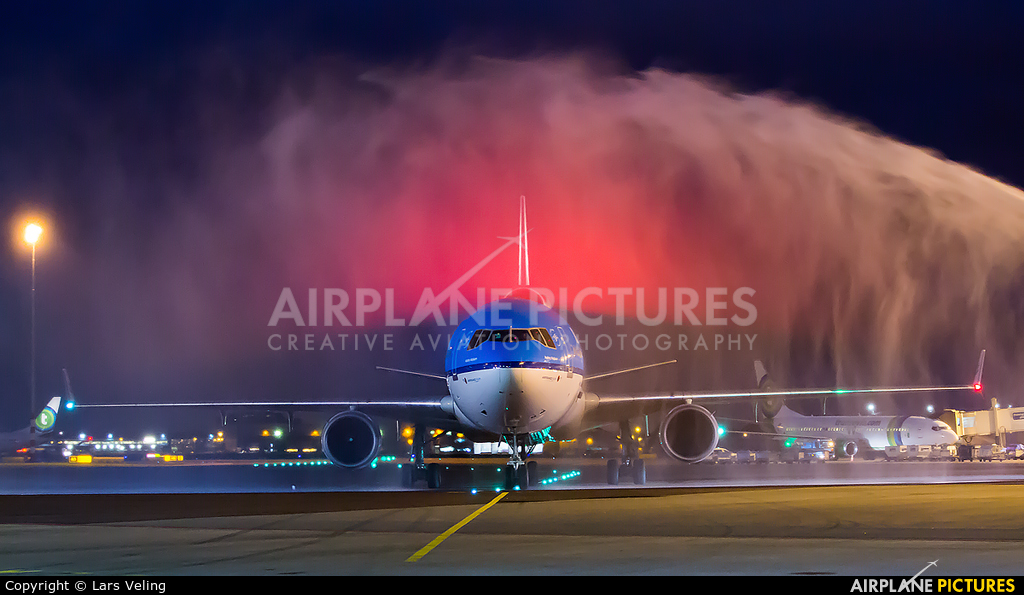 KLM PH-KCE aircraft at Amsterdam - Schiphol