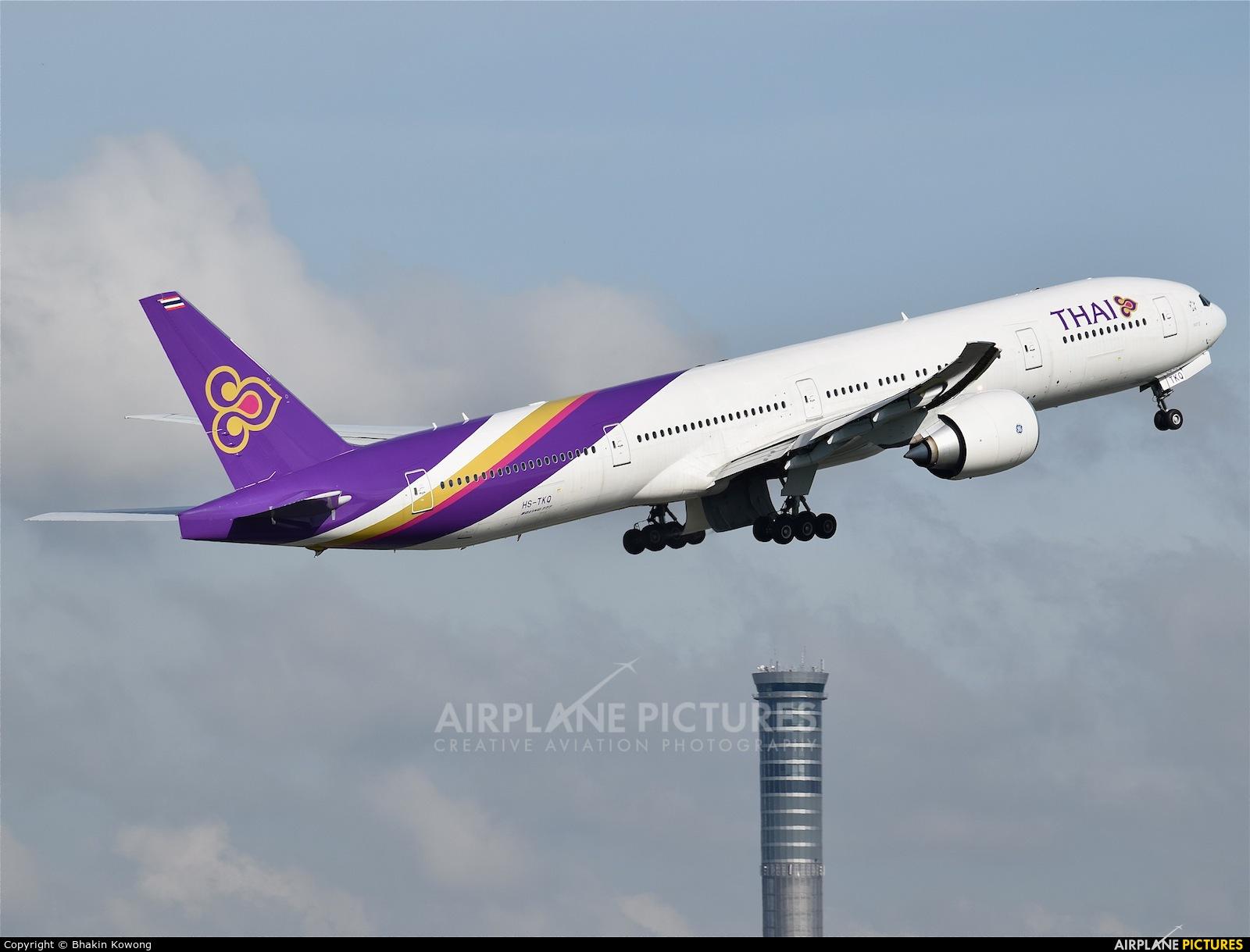 Thai Airways HS-TKQ aircraft at Bangkok - Suvarnabhumi