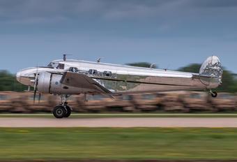 NC2072 - Private Lockheed 12 Electra Junior