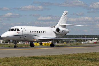 LX-ATD - Global Jet Luxembourg Dassault Falcon 2000 DX, EX