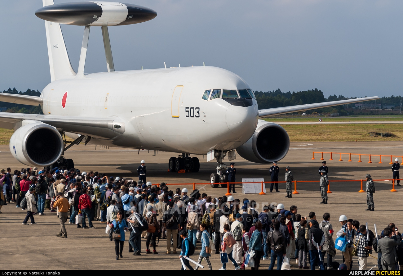 Japan - Air Self Defence Force 74-3503 aircraft at Ibaraki - Hyakuri AB
