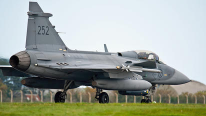 39-252 - Sweden - Air Force SAAB JAS 39C Gripen
