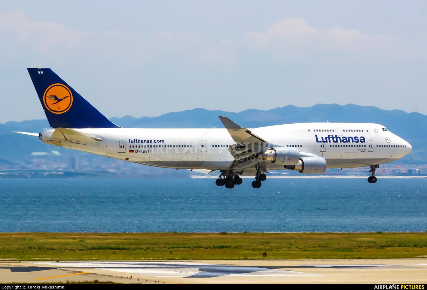Lufthansa D-ABVH aircraft at Kansai Intl