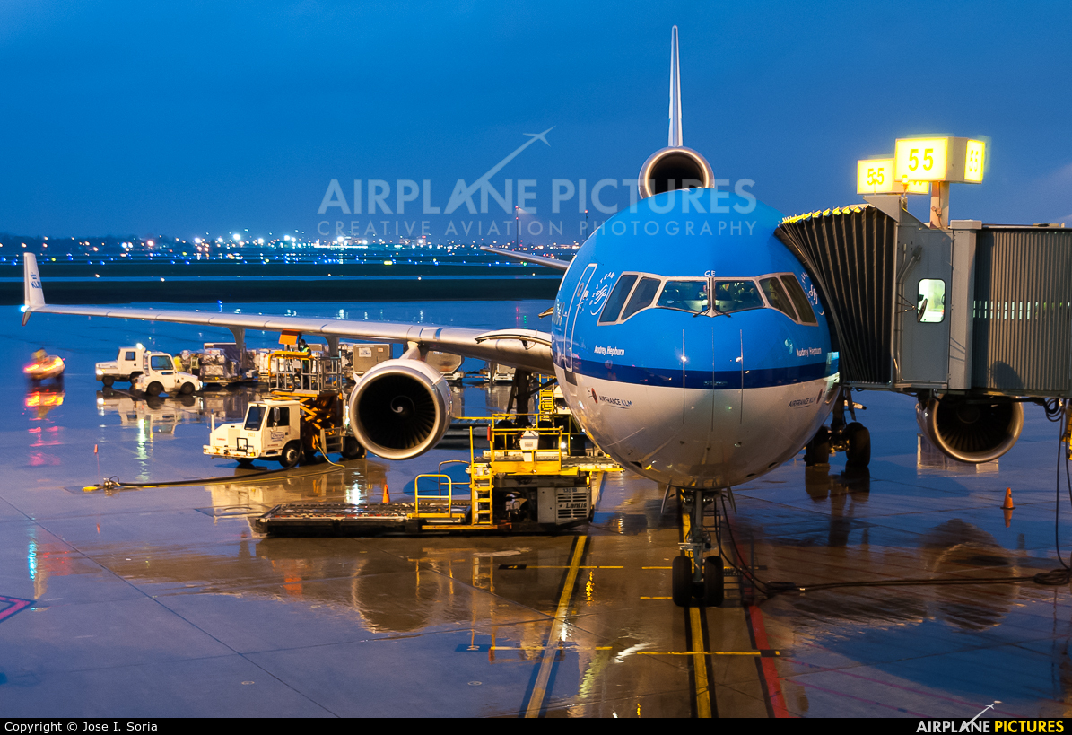 KLM PH-KCE aircraft at Montreal - Pierre Elliott Trudeau Intl, QC