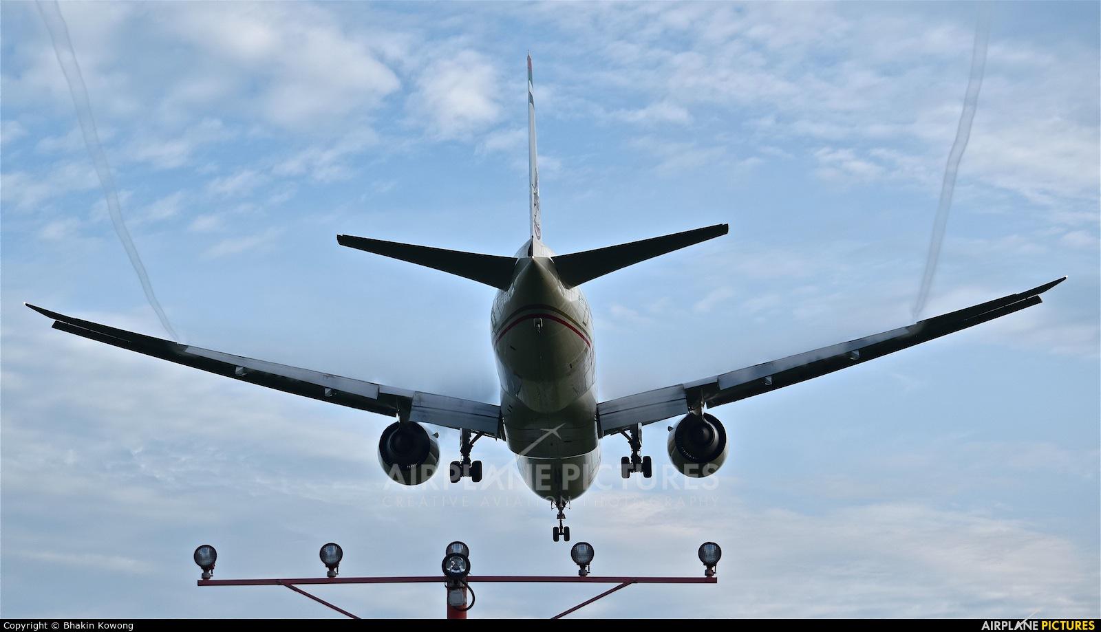Etihad Airways A6-ETG aircraft at Bangkok - Suvarnabhumi