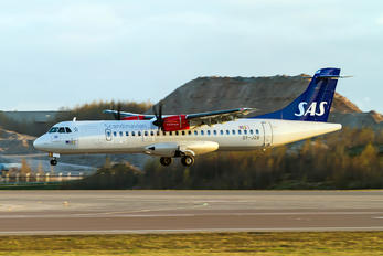 OY-JZB - SAS - Scandinavian Airlines ATR 72 (all models)