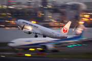 JA327J - JAL - Japan Airlines Boeing 737-800 aircraft