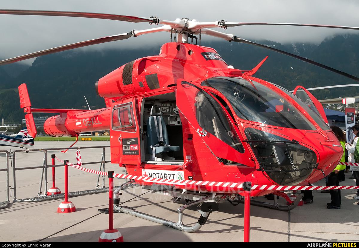 Heli Tirol OE-XLL aircraft at Innsbruck