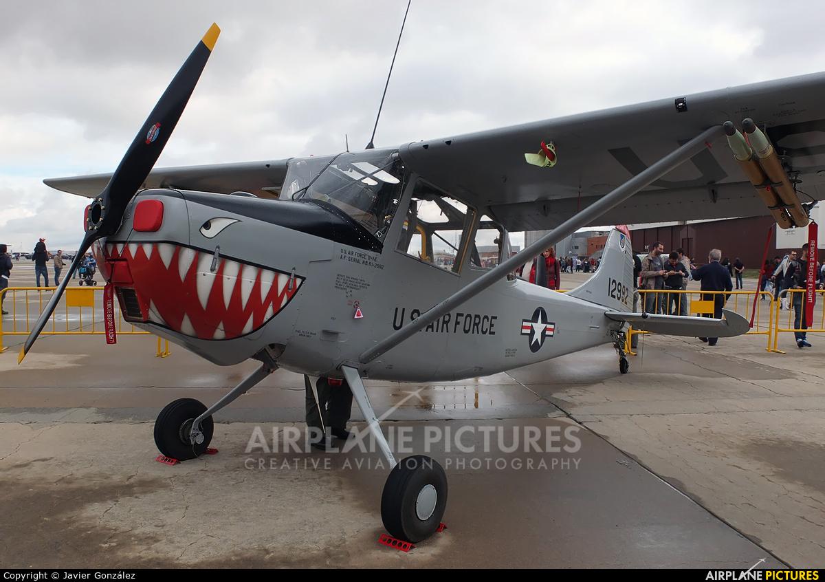 Fundación Infante de Orleans - FIO EC-MAB aircraft at Madrid - Torrejon