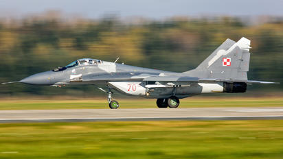 70 - Poland - Air Force Mikoyan-Gurevich MiG-29