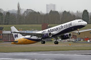 G-OZBS - Monarch Airlines Airbus A321 aircraft