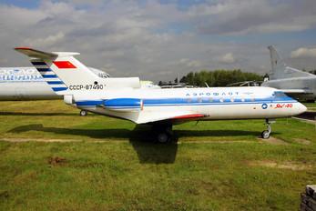 CCCP-87490 - Aeroflot Yakovlev Yak-40