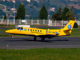 HB-VMX - TCS Air Ambulance Cessna 550 Citation Bravo