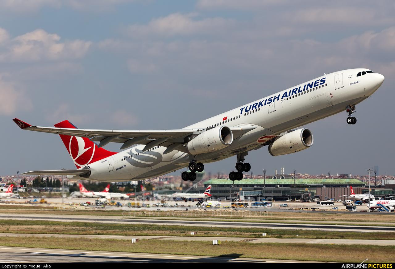 Turkish Airlines TC-JNP aircraft at Istanbul - Ataturk