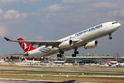 TC-JNP - Turkish Airlines Airbus A330-300 aircraft