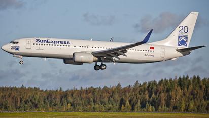 TC-SNG - SunExpress Boeing 737-800