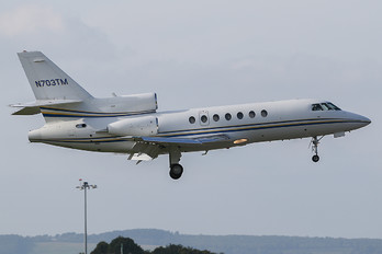 N703TM - Private Dassault Falcon 50