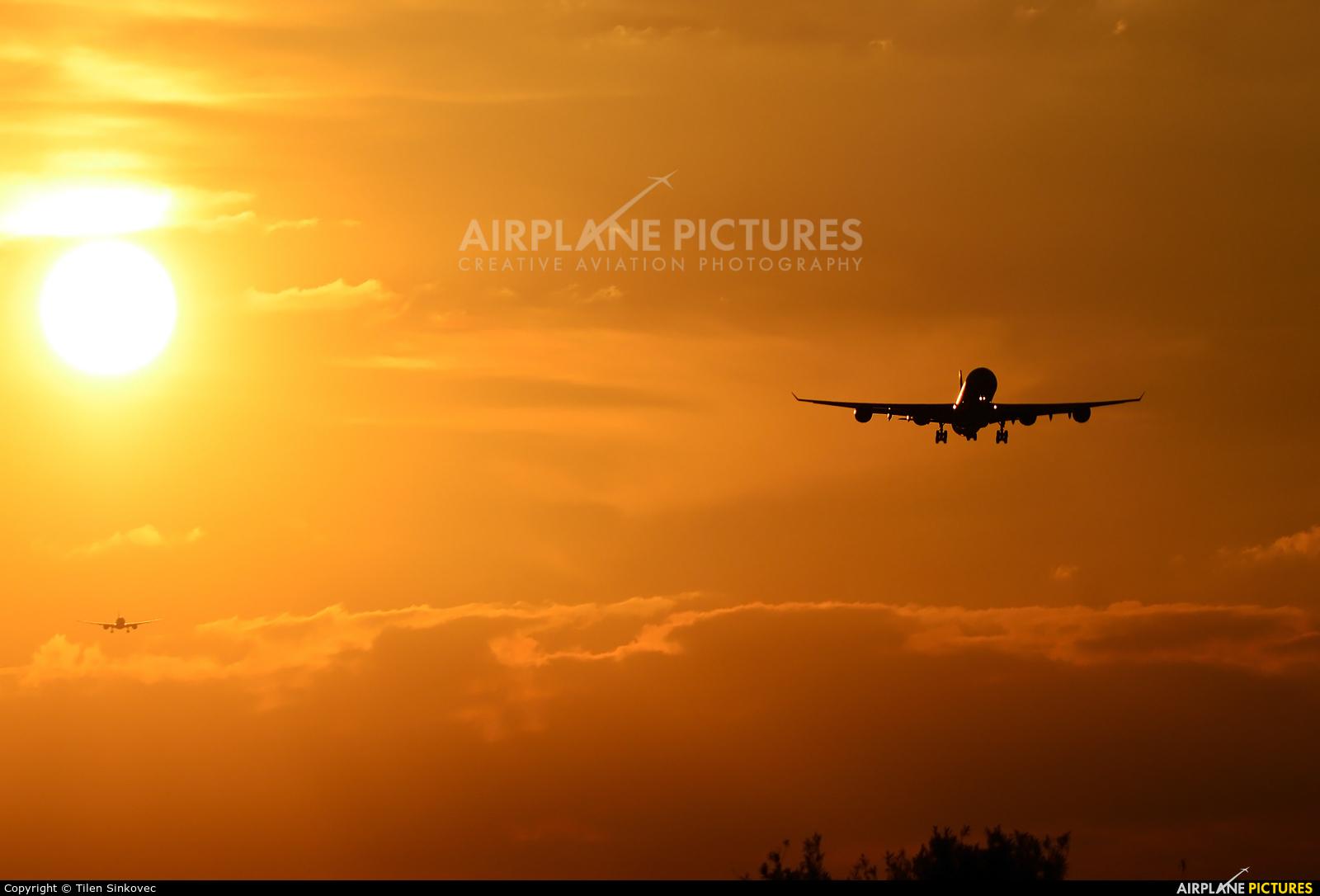Virgin Atlantic G-VFIT aircraft at London - Heathrow