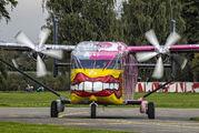 OE-FDN - Pink Aviation Short SC.7 Skyvan aircraft