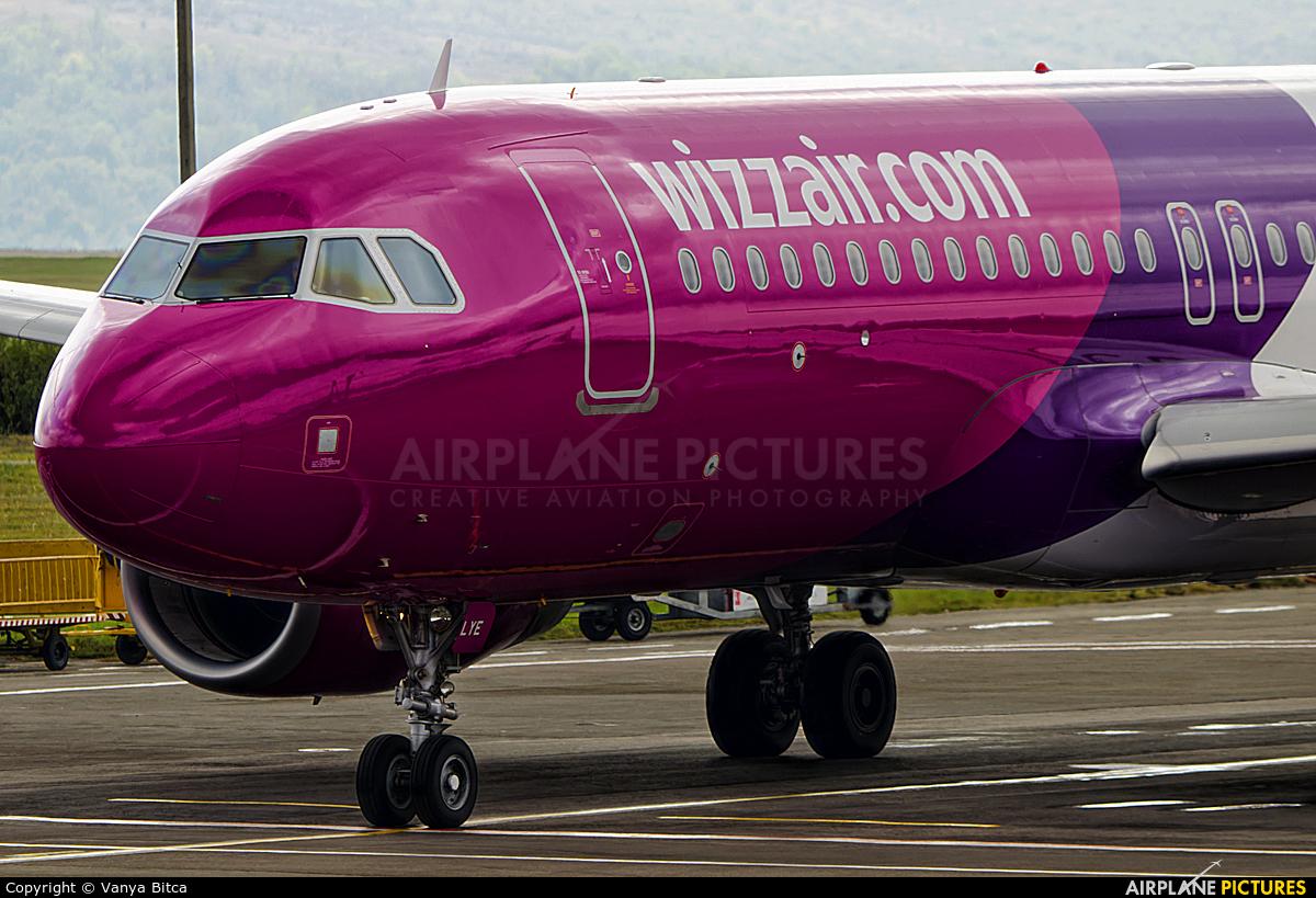 Wizz Air HA-LYE aircraft at Chişinău Intl
