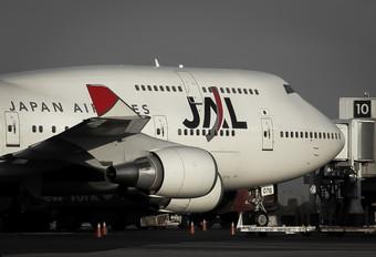 JA8076 - JAL - Japan Airlines Boeing 747-400