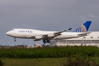 N199UA - United Airlines Boeing 747-400