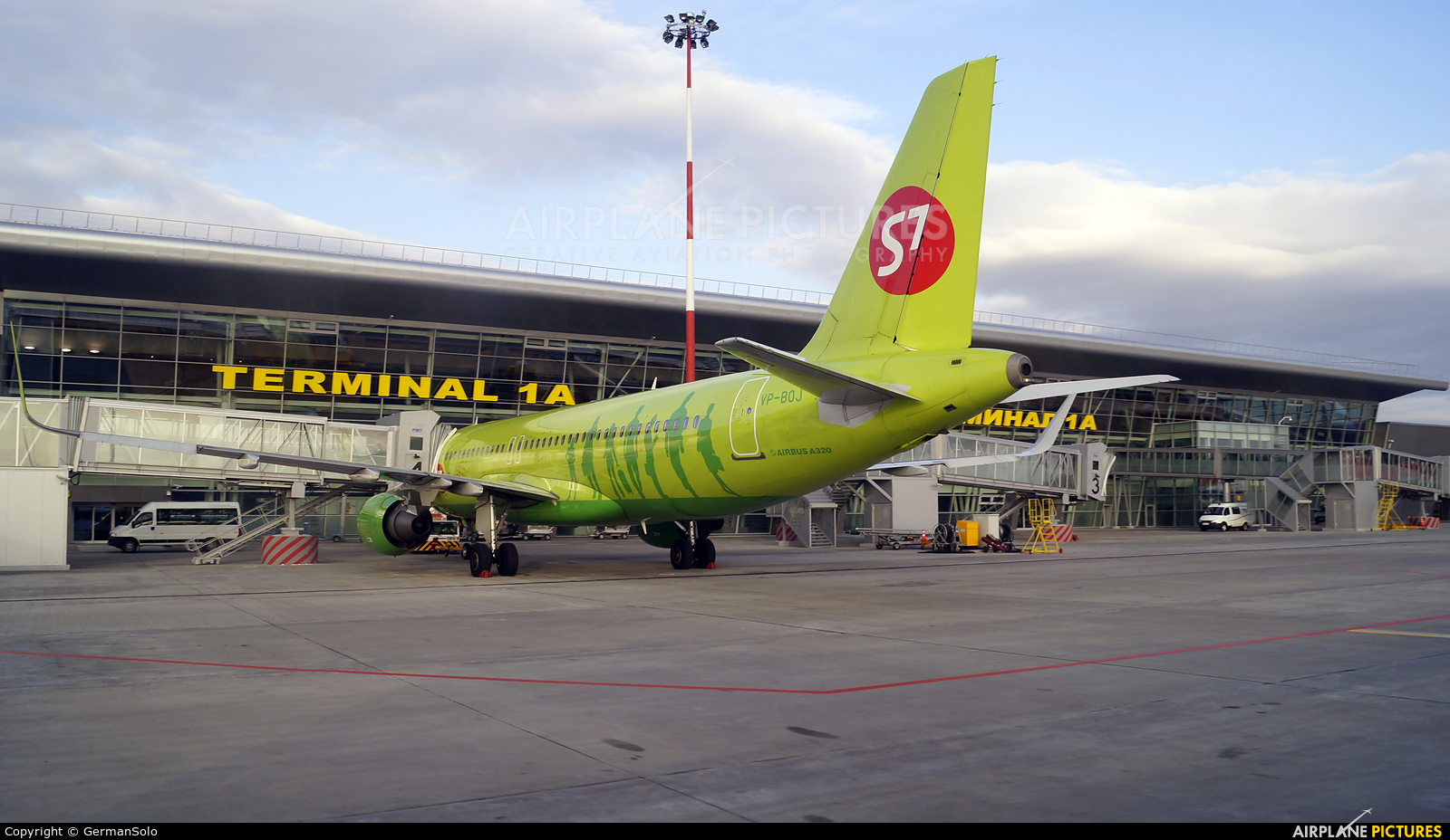 S7 Airlines VP-BOJ aircraft at Kazan