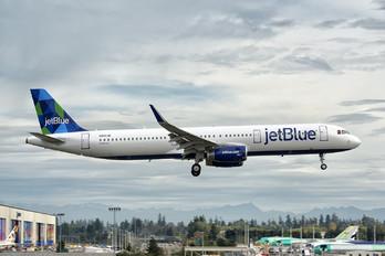 N942JB - JetBlue Airways Airbus A321