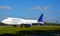 N194UA - United Airlines Boeing 747-400 aircraft