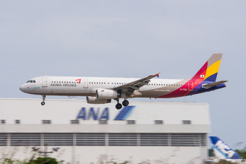 HL7722 - Asiana Airlines Airbus A321