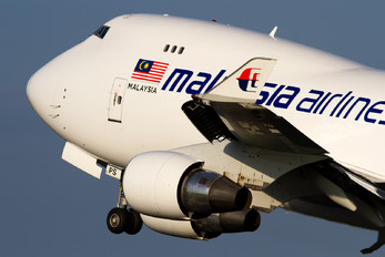 9M-MPS - Malaysia Airlines Boeing 747-400F, ERF