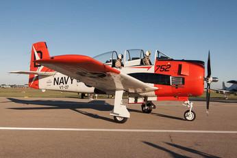 NX91AW - Private North American T-28C Trojan