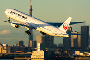 JA751J - JAL - Japan Airlines Boeing 777-300 aircraft