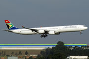 ZS-SNA - South African Airways Airbus A340-600 aircraft