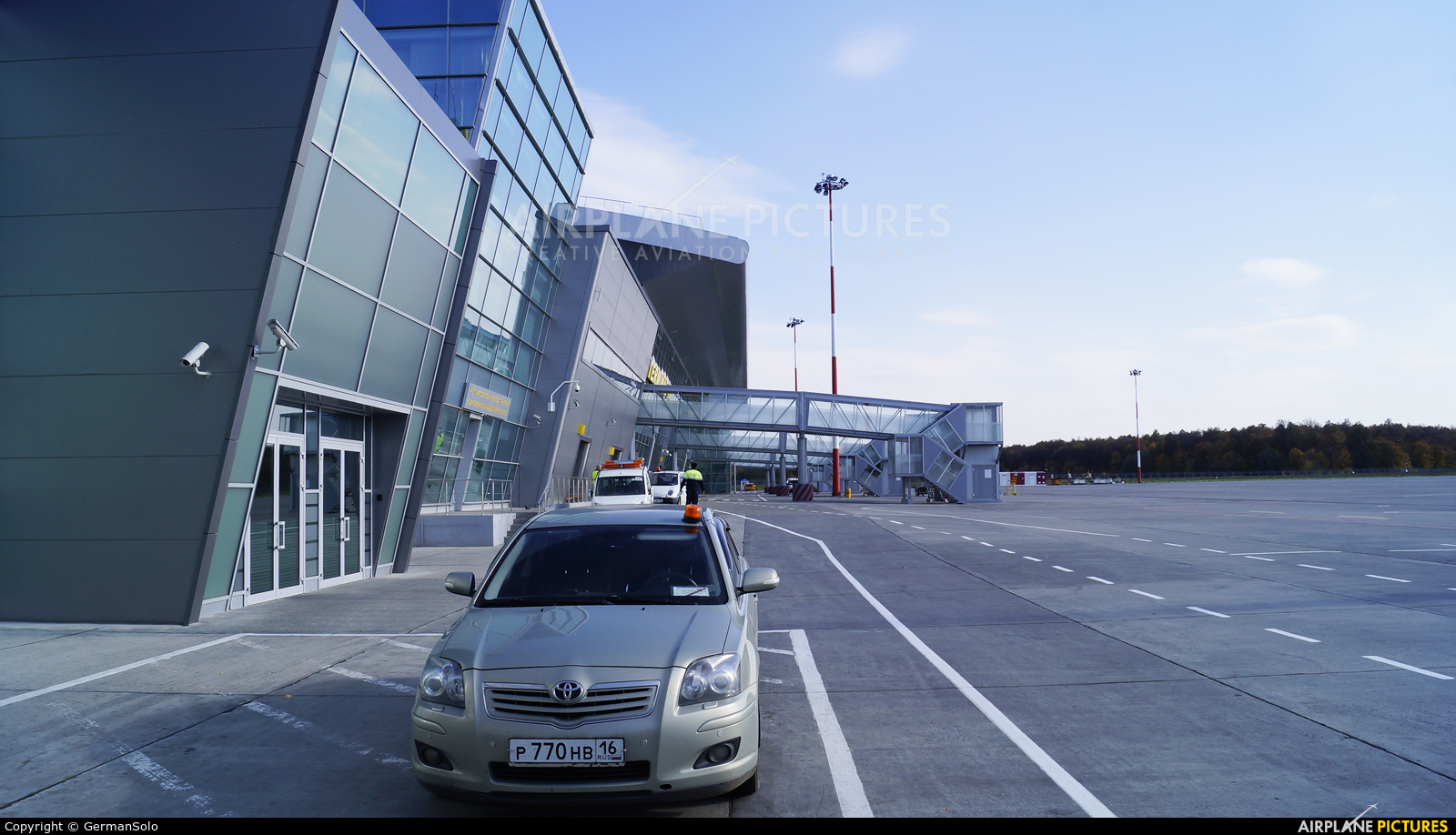 - Airport Overview - aircraft at Kazan