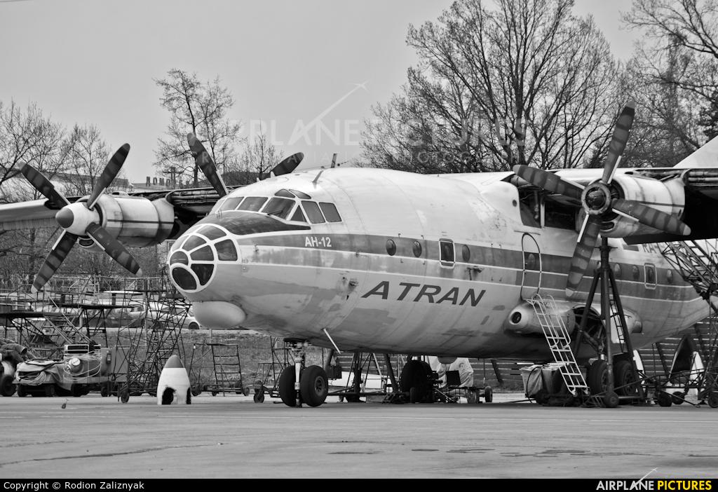 Atran RA-93913 aircraft at Moscow - Domodedovo