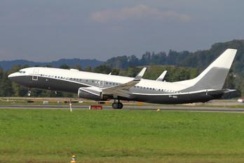 VP-BBZ - Gama Aviation Boeing 737-800 BBJ