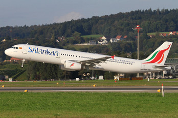 4R-ABR - SriLankan Airlines Airbus A321
