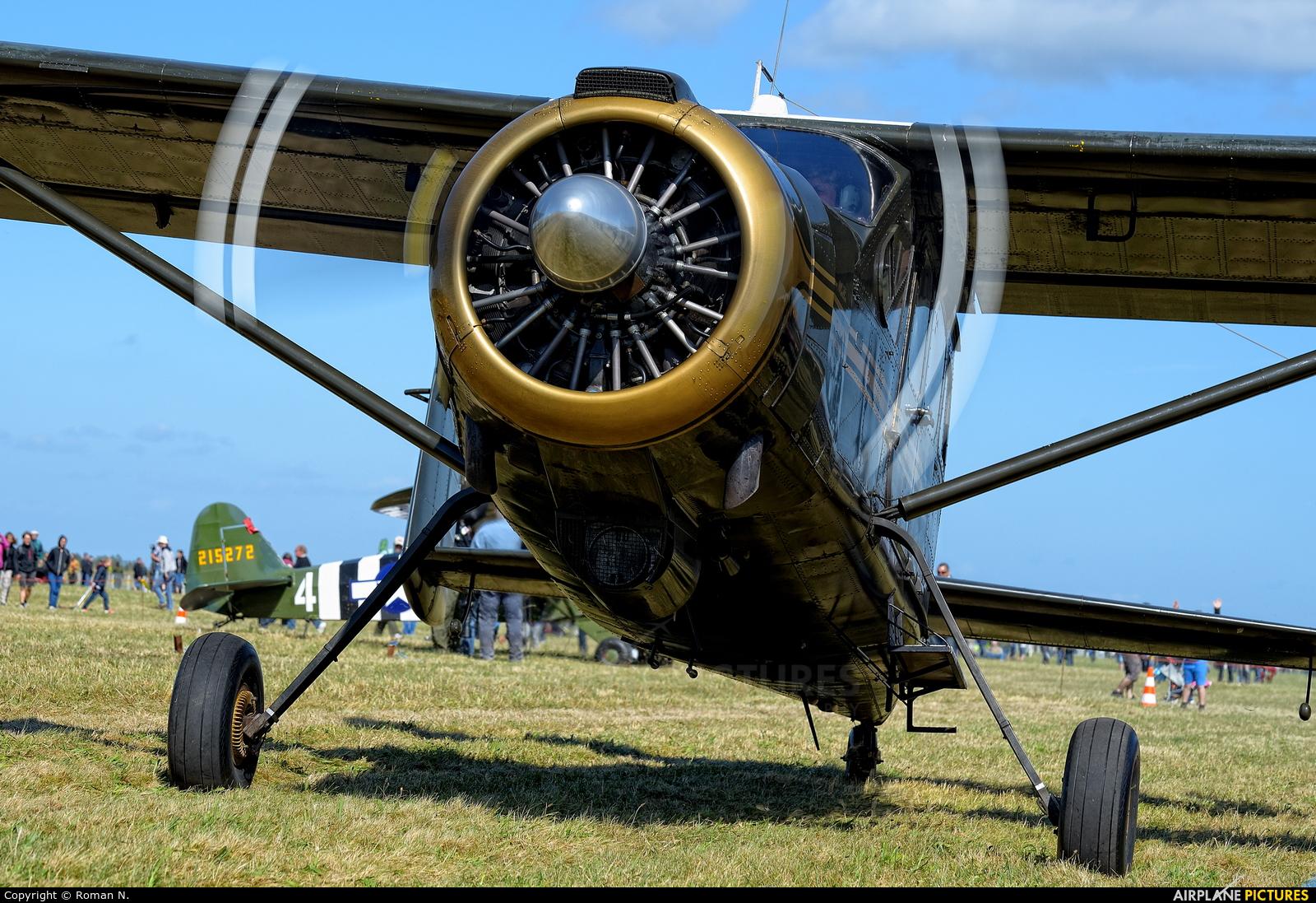 Private OY-SLV aircraft at Karup